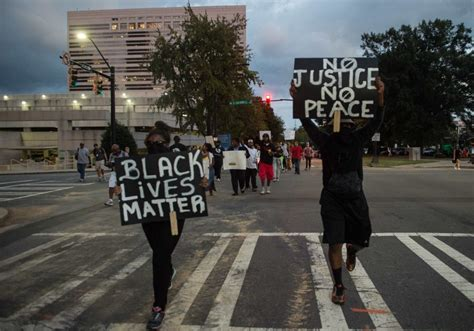 How Black Lives Matter Is Strategizing Protests Amid A