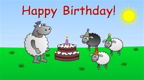 Happy Birthday Cartoon Songs, Videos & Images For Kids