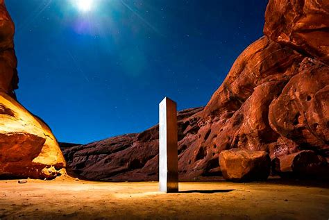 Monolith in Utah desert was toppled by group who said