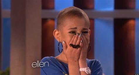 Talia Castellano, Teen With Cancer, Goes On 'Ellen' And