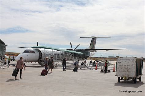 Flight Review: Frontier Airlines Q400 from Denver to Aspen
