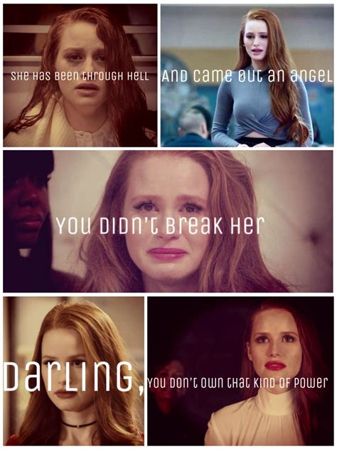 I feel like this pretty much sums up Cheryl blossom