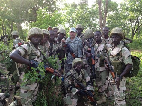 California Guard Special Forces helping train Nigerian