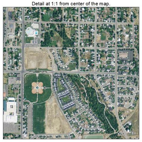 Aerial Photography Map of Payson, UT Utah
