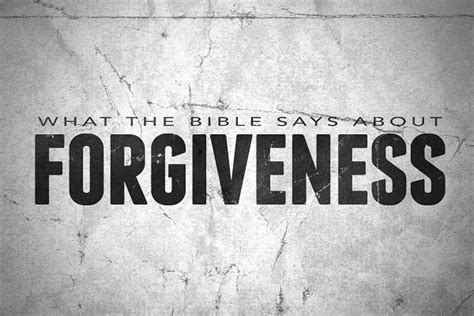 What the Bible Says About Forgiveness (Sermon Series