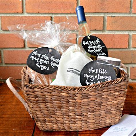 Assemble a thoughtful and practical housewarming gift