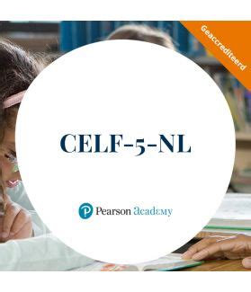CELF-5-NL training - Pearson Clinical & Talent Assessment