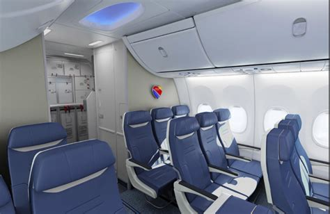 Southwest Airlines New Interior And Seats Almost Ready To