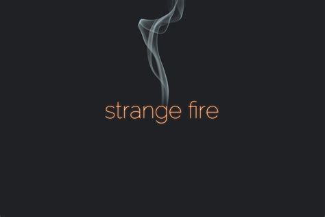 Strange Fire, part of Grace to You's Truth Matters