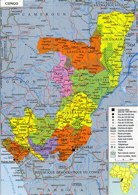 Maps of Congo | Map Library | Maps of the World