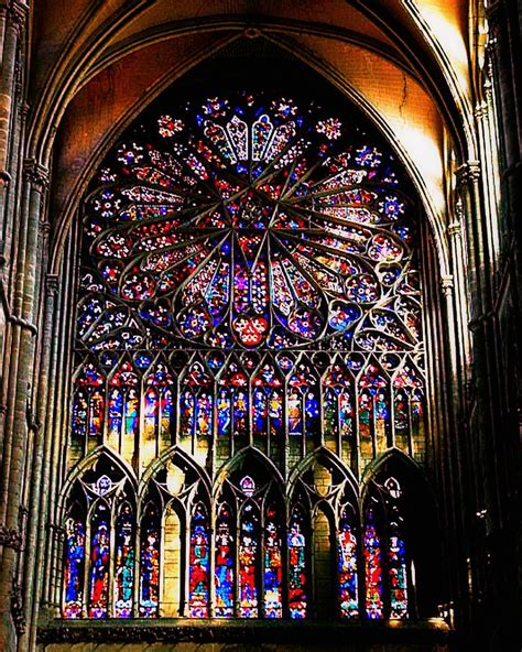 The north rose window Amiens Cathedral - a photo on Flickriver