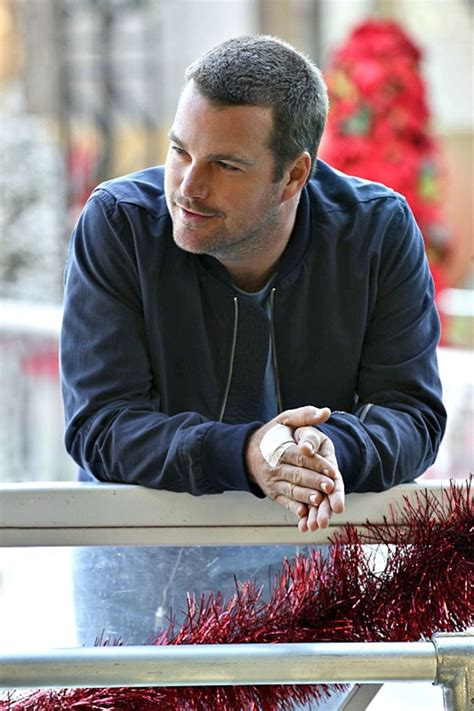 NCIS: Los Angeles Behind-the-Scenes Photos With Chris O