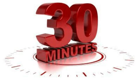 What can you do in 30 minutes? - Life After Ministries