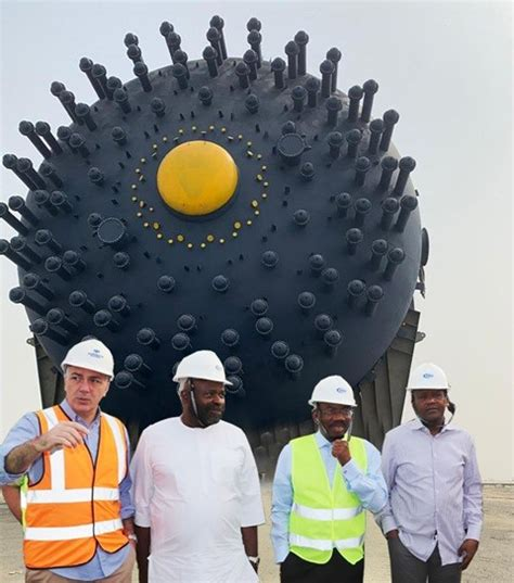 In Pictures: Dangote Refinery Takes Delivery of Giant