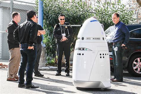 Here come the autonomous robot security guards: What could