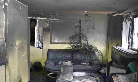 First pictures of the flat where Grenfell Tower fire