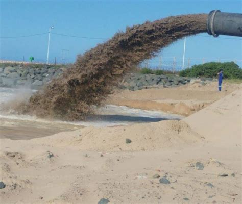 Durban Central Beaches to Receive New Sand - Dredging Today