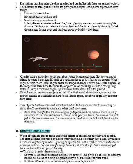 Crash Course Worksheets, GRAVITY (OF THE SITUATION