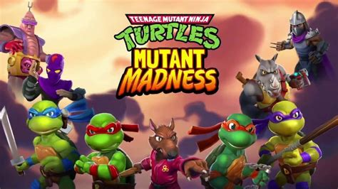 TMNT: Mutant Madness arrives on Android and iOS