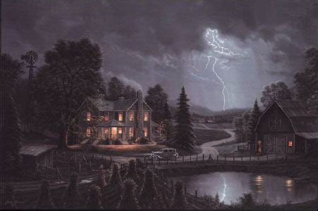 Jesse Barnes - Ahead of the Storm - Paper and Canvas Art