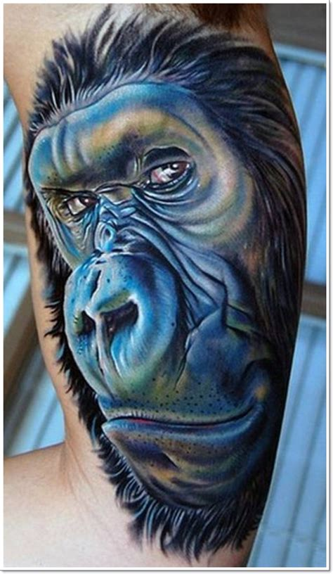 30 Cool and Crazy Monkey Tattoo Designs