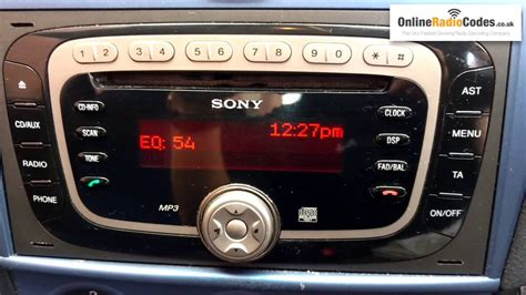 How To Find Ford Radio Code Serial From The Radio's
