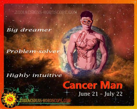 Cancer Man: Characteristics and Personality Traits of
