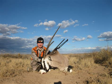 New Mexico Free Range Oryx Hunting on White Sands Missile