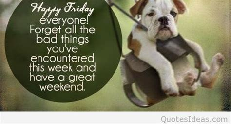 It's friday, happy friday quotes, cards and messages