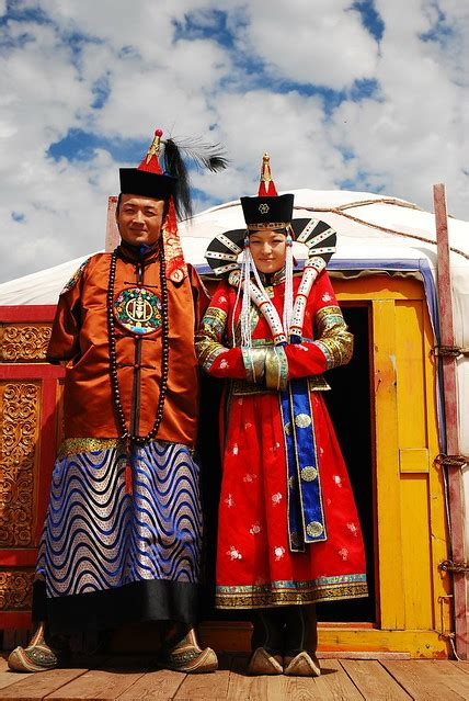 Mongolian traditional clothes   Flickr - Photo Sharing!