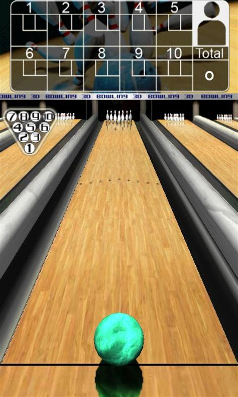 App For Phone: 3D Bowling Game for Android Free Download
