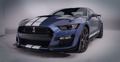 2020 Ford Mustang Shelby GT500 blitzes Detroit Auto Show