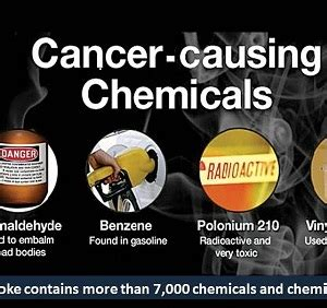 Single tobacco may contain 70 chemicals that cause cancer