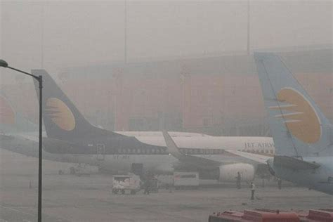 Bad weather hits flight operations; many delayed