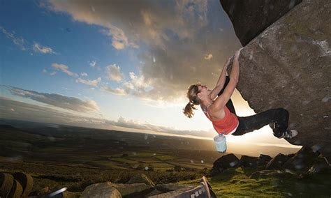 On the moors and mountains, female climbers find there's