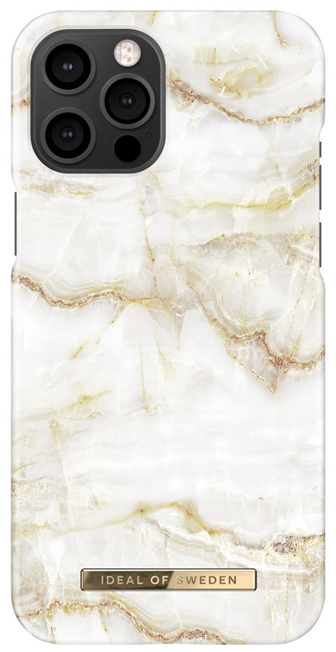 iDeal of Sweden iPhone 12 Pro Max Fashion Case Golden
