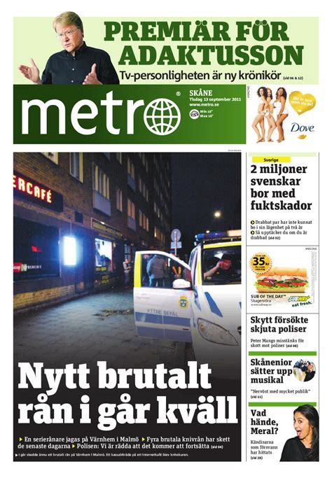 20110913_se_malmo by Metro Sweden - Issuu
