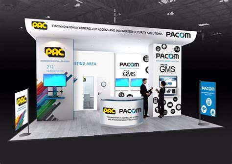 PACOM and PAC exhibit together at IFSEC 2016