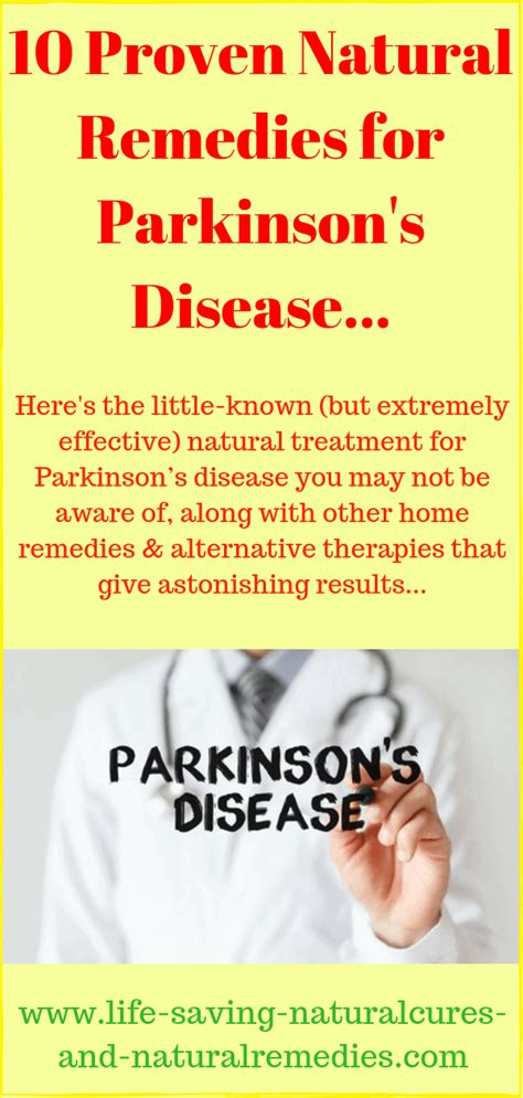 Wow! A Natural Cure for Parkinson's Disease That Works!