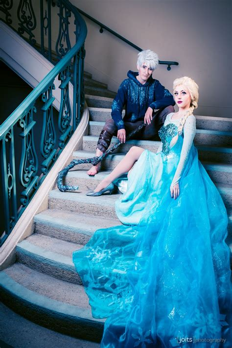 jack frost and elsa | Jack frost cosplay, Couples cosplay