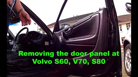 How to Remove Door Panel a Volvo S60 S80 V70 - YouTube